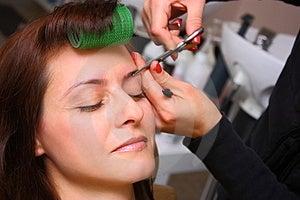Beauty Salon - Eyebrows Care Stock Photo - Image: 23391640