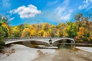 Lonely Bridge Royalty Free Stock Photos - Image: 23392958