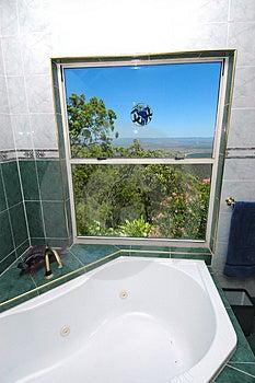 Bathroom With Views Stock Image - Image: 2345521