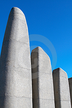 Afrikaans Language Monument Royalty Free Stock Image - Image: 2348516