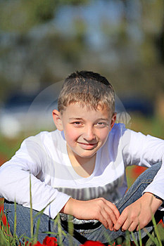 Portrait Of A Boy Royalty Free Stock Images - Image: 23400549