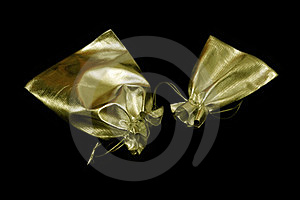 Soft Golden Bags Royalty Free Stock Image - Image: 23400896