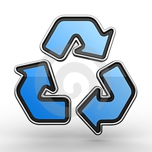 Sign Of Recycling Royalty Free Stock Photos - Image: 23402148