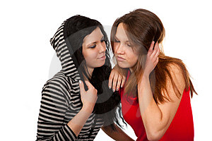 Dialogue Of Two Friends Stock Photography - Image: 23403442