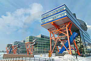 Modern Office Buildings. Royalty Free Stock Images - Image: 23414929
