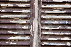 Peeling Shutters Stock Photo - Image: 23418640