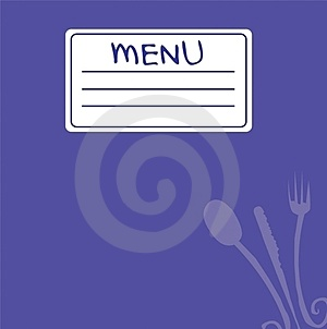 Menu 5 Royalty Free Stock Photo - Image: 23423035