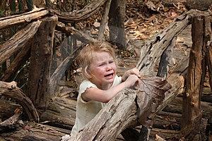 Sad Girl On The Bridge Stock Photo - Image: 23429520