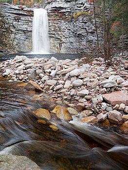 Waterfall And Stream Stock Photo - Image: 23435360