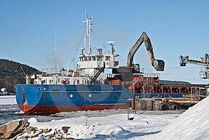 Cargo Ship. Royalty Free Stock Images - Image: 23437679