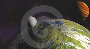 Alien Planets Royalty Free Stock Images - Image: 23442159