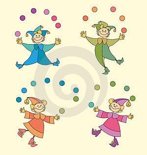 Circus Kids Stock Photography - Image: 23445662