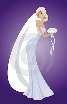The Beautiful Bride Royalty Free Stock Photography - Image: 23445677