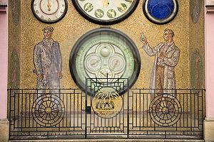 Clock In Olomouc Royalty Free Stock Photography - Image: 23446767
