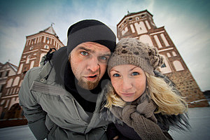 Traveling Couple In Love Royalty Free Stock Photography - Image: 23447547
