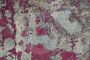 Cracked Peeling Paint On The Wall Stock Photography - Image: 23447972