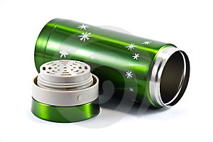 Stainless Steel And Green Royalty Free Stock Images - Image: 23458949