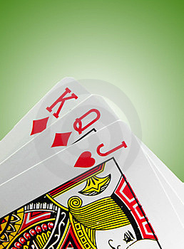 Playing Card Royalty Free Stock Images - Image: 23461589