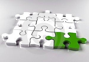 Jigsaw Puzzle Stock Images - Image: 23462554