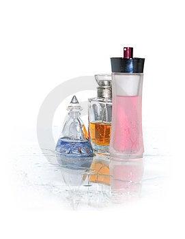 Perfume On White Royalty Free Stock Image - Image: 23463756