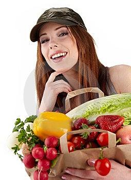 Healthy Lifestyle Fruit Shopping Stock Photo - Image: 23464870