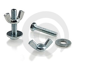Bolts Royalty Free Stock Images - Image: 23469349