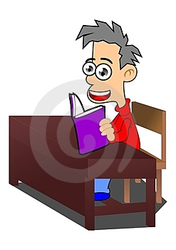 Read A Book Royalty Free Stock Photo - Image: 23471415