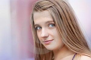 Portrait Of Beautiful Girl Stock Photography - Image: 23472982