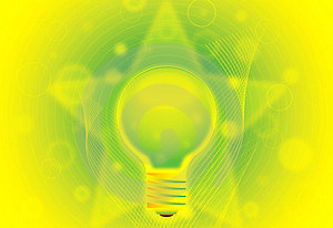 Eco Lamp Illustration Stock Photography - Image: 23476692