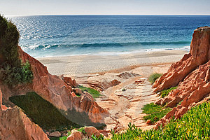 Seascape On The Shore. Stock Photography - Image: 23489372