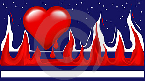 American Heart Royalty Free Stock Images - Image: 2355189