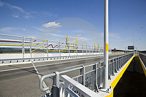Sound Protection Walls And Bridge Stock Photography - Image: 23511132