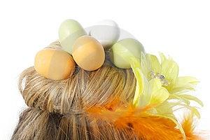Easter Egg Nest Stock Image - Image: 23512831