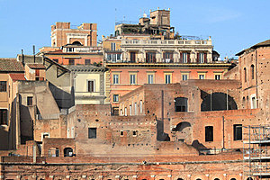 Rome - Trajan's Forum Royalty Free Stock Images - Image: 23514049