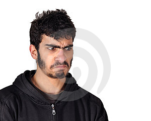 Mad And Sad Stock Image - Image: 23516011