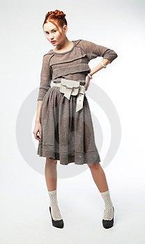 Pretty Young Asian Female Posing. Studio Shot Royalty Free Stock Photo - Image: 23525685