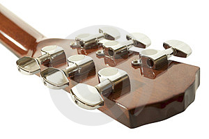 Guitar Headstock Royalty Free Stock Photo - Image: 23529835