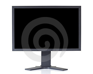 LCD Monitor With Clipping Paths Stock Photos - Image: 23532493