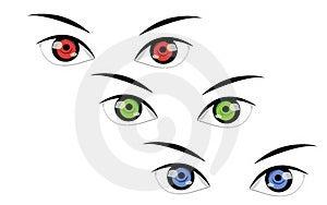 Eyes Royalty Free Stock Image - Image: 23532976