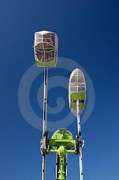 Amusement Ride Royalty Free Stock Image - Image: 23535026
