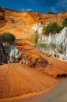 Red River Canyon, Mui Ne, Vietnam Stock Photos - Image: 23537973