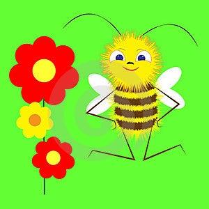 Bee Stock Photography - Image: 23542122