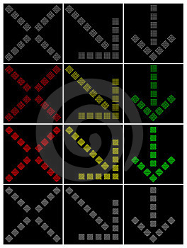 Traffic Arrows Stock Image - Image: 23551051