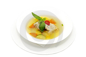 Broth Of Quails Royalty Free Stock Image - Image: 23552276