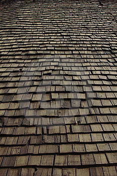 Wooden House Roof Stock Images - Image: 23554714