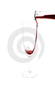 Pouring Red Wine Royalty Free Stock Photos - Image: 23557598
