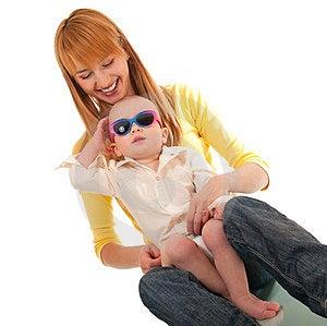 Mutter- Und Sohnumarmung Stockfotos - Bild: 23560623