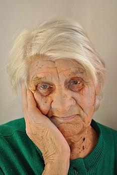Sad Old Age Stock Photos - Image: 23562583