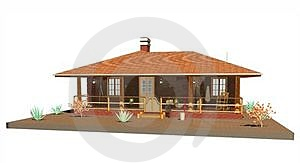 Far West Old House Farm Royalty Free Stock Image - Image: 23568076
