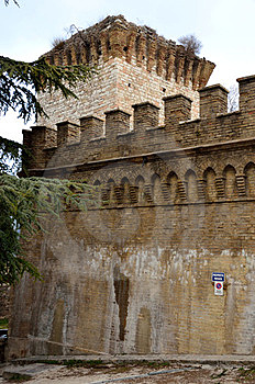 Albornoz Fortress Royalty Free Stock Photo - Image: 23568215
